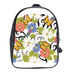 Floral Fantasy School Bag (XL) by R1111B