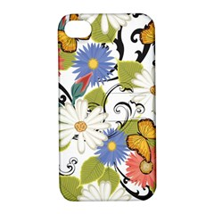 Floral Fantasy Apple Iphone 4/4s Hardshell Case With Stand by R1111B