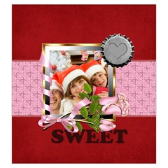 Sweet Love By Mac Book   Drawstring Pouch (large)   Zguao1n5k1f7   Www Artscow Com Front