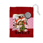 sweet love - Drawstring Pouch (Large)