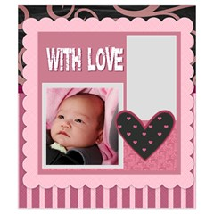 Sweet Love By Mac Book   Drawstring Pouch (small)   4qz16axqwda2   Www Artscow Com Back