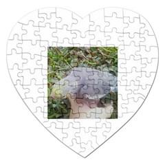 Cockatiel Jigsaw Puzzle (heart) by honeyheart