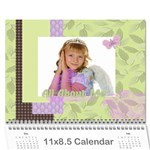 kids - Wall Calendar 11  x 8.5  (12-Months)
