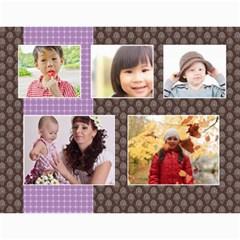 Kids By Kids   Wall Calendar 11  X 8 5  (18 Months)   B6h70u7gcyzb   Www Artscow Com Month