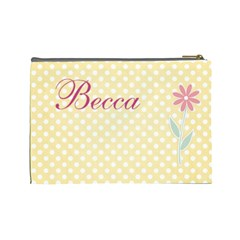 Bag For Becca By Rebecca Shields   Cosmetic Bag (large)   Em8rzomoehy9   Www Artscow Com Back