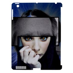 Fibro Brain Apple Ipad 3/4 Hardshell Case (compatible With Smart Cover) by FunWithFibro