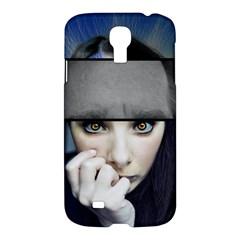 Fibro Brain Samsung Galaxy S4 I9500/i9505 Hardshell Case by FunWithFibro