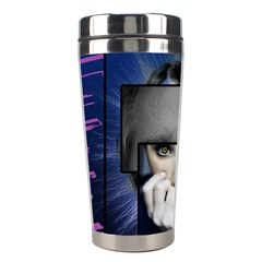 Fibro Brain Stainless Steel Travel Tumbler by FunWithFibro