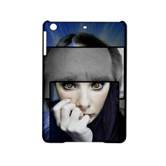 Fibro Brain Apple Ipad Mini 2 Hardshell Case by FunWithFibro