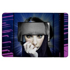 Fibro Brain Apple Ipad Air Flip Case by FunWithFibro