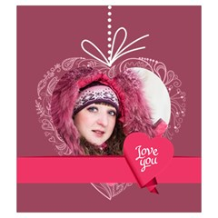 Love By Ki Ki   Drawstring Pouch (medium)   I8vgq5czsjv4   Www Artscow Com Back