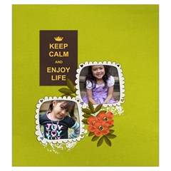 Drawstring Pouch: (l) Keep Calm By Jennyl   Drawstring Pouch (large)   H9fqy6bl0hpk   Www Artscow Com Back