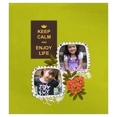 Drawstring Pouch (m): Keep Calm By Jennyl   Drawstring Pouch (medium)   Sw8k3ubrc61h   Www Artscow Com Back