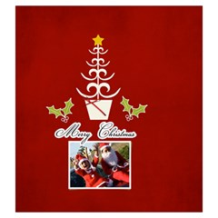Drawstring Pouch: (l) Merry Christmas By Jennyl   Drawstring Pouch (large)   P467xvpx11x7   Www Artscow Com Back