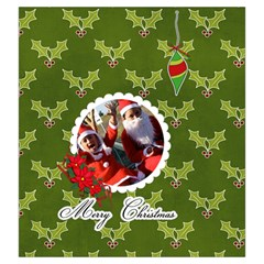 Drawstring Pouch: (l) Merry Christmas2 By Jennyl   Drawstring Pouch (large)   6wn464ziat2q   Www Artscow Com Back