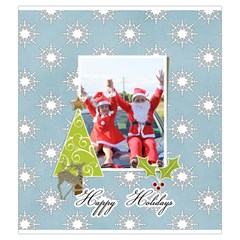 Drawstring Pouch (m): Snowflakes By Jennyl   Drawstring Pouch (medium)   61qpytp2h2f5   Www Artscow Com Front