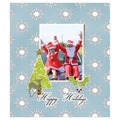 Drawstring Pouch (s) : Snowflakes By Jennyl   Drawstring Pouch (small)   5cyyj9ec2v07   Www Artscow Com Front