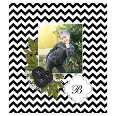 Drawstring Pouch (m): Chevron Black By Jennyl   Drawstring Pouch (medium)   Rodwrfy8f0d4   Www Artscow Com Back