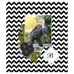 Drawstring Pouch (s) : Chevron Black By Jennyl   Drawstring Pouch (small)   Spd5u72b0i5g   Www Artscow Com Back