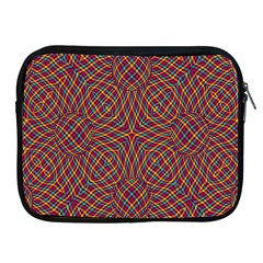 Trippy Tartan Apple Ipad Zippered Sleeve by SaraThePixelPixie