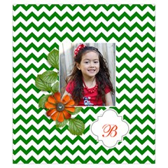 Drawstring Pouch (m): Chevron Green By Jennyl   Drawstring Pouch (medium)   N1aawp1ec2cm   Www Artscow Com Back