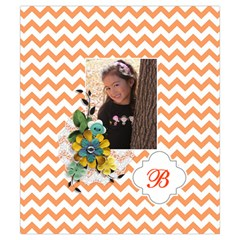 Drawstring Pouch (s) : Chevron Orange By Jennyl   Drawstring Pouch (small)   Whhddwq7nlzn   Www Artscow Com Back