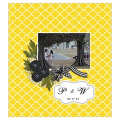 Drawstring Pouch (l): Wedding By Jennyl   Drawstring Pouch (large)   4vbprpptkyzx   Www Artscow Com Back