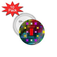 Abstract Modern 1 75  Button (10 Pack) by StuffOrSomething