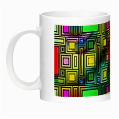 Abstract Modern Glow In The Dark Mug by StuffOrSomething