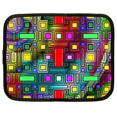 Abstract Modern Netbook Sleeve (xl) by StuffOrSomething