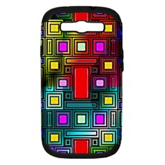 Abstract Modern Samsung Galaxy S Iii Hardshell Case (pc+silicone) by StuffOrSomething