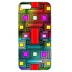 Abstract Modern Apple Iphone 5 Hardshell Case With Stand by StuffOrSomething