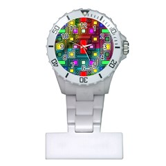 Abstract Modern Nurses Watch by StuffOrSomething