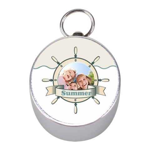 Summer By Summer Time    Silver Compass (mini)   9s8t56qjk89t   Www Artscow Com Front