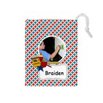Drawstring Pouch (M): School Stuff2 - Drawstring Pouch (Medium)