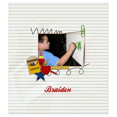 Drawstring Pouch (m): School Stuff4 By Jennyl   Drawstring Pouch (medium)   Cd67vnn6xbyh   Www Artscow Com Back