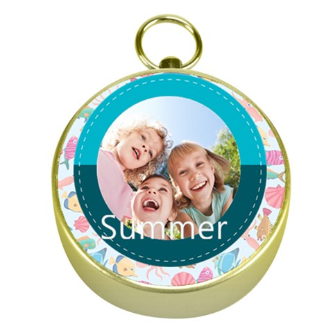 Summer By Summer Time    Gold Compass   Sp0sm3njv4ur   Www Artscow Com Front