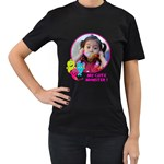 Women s T-shirt 2 -sided - Women s T-Shirt (Black) (Two Sided)
