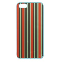 Festive Stripe Apple Seamless Iphone 5 Case (color) by Colorfulart23