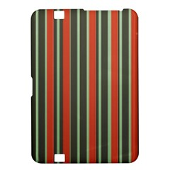 Festive Stripe Kindle Fire Hd 8 9  Hardshell Case by Colorfulart23