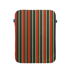 Festive Stripe Apple Ipad Protective Sleeve by Colorfulart23