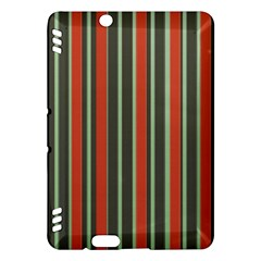Festive Stripe Kindle Fire Hdx 7  Hardshell Case by Colorfulart23