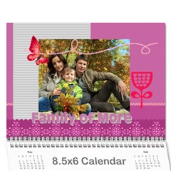 Family By Family   Wall Calendar 8 5  X 6    Xc43ng0pnztv   Www Artscow Com Cover