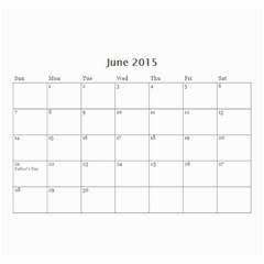 Family By Family   Wall Calendar 8 5  X 6    Xc43ng0pnztv   Www Artscow Com Jun 2015