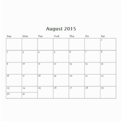 Family By Family   Wall Calendar 8 5  X 6    Xc43ng0pnztv   Www Artscow Com Aug 2015