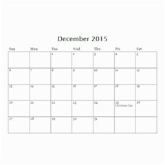 Family By Family   Wall Calendar 8 5  X 6    Xc43ng0pnztv   Www Artscow Com Dec 2015