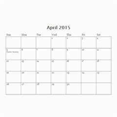 Family By Family   Wall Calendar 8 5  X 6    Xc43ng0pnztv   Www Artscow Com Apr 2015