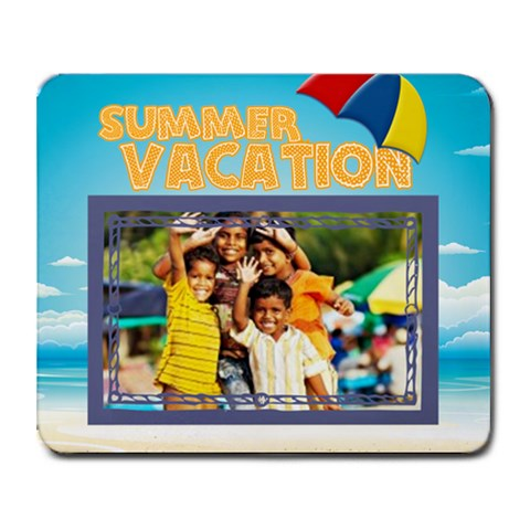 Summer By Summer Time    Collage Mousepad   0jc6k8z345dl   Www Artscow Com 9.25 x7.75 Mousepad - 1