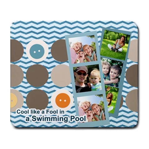 Summer By Summer Time    Collage Mousepad   Bttmh1qkl8l4   Www Artscow Com 9.25 x7.75 Mousepad - 1