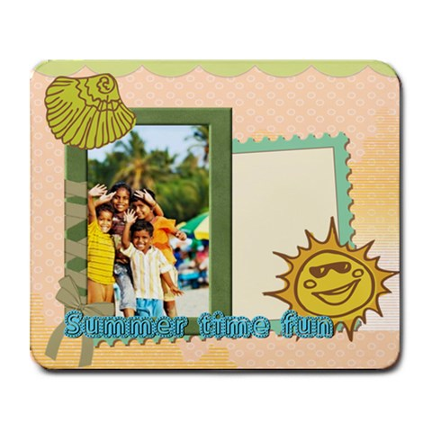 Summer By Summer Time    Collage Mousepad   8yj4lohvby6n   Www Artscow Com 9.25 x7.75 Mousepad - 1